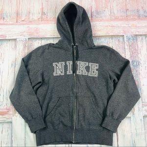 Nike Men's Full Zip Spell Out Hoodie